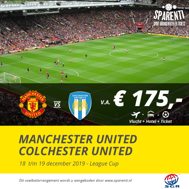 Manchester United – Colchester United
