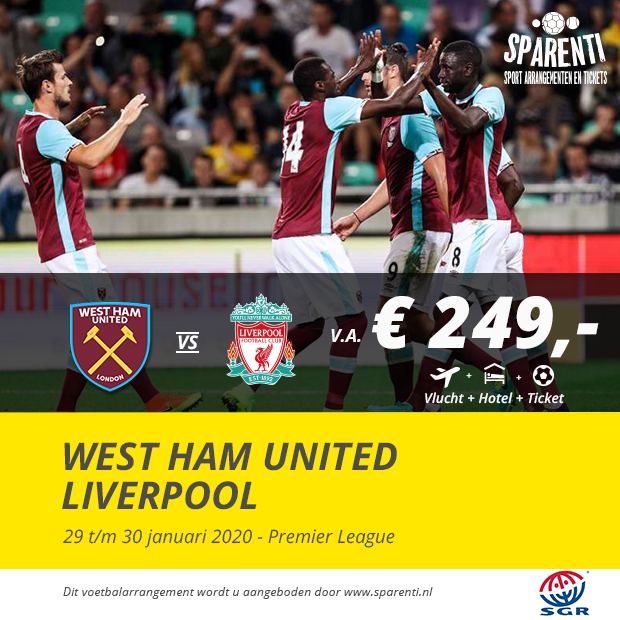 West Ham United – Liverpool